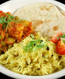 Indian Vegetarian Curry Royalty Free Stock Images