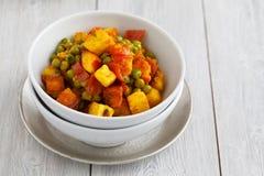 Indian Vegetarian Dish Stock Photo