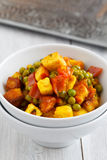 Indian Vegetarian Dish Stock Photo