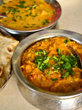 Indian vegetarian meal Royalty Free Stock Photography
