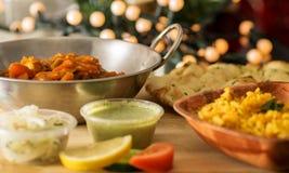 Indian vegetarian meal Stock Photo
