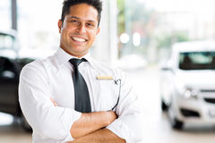 Indian vehicle salesman Stock Photos