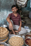 Indian vendor Stock Photo