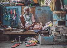 Indian vendor Stock Photography
