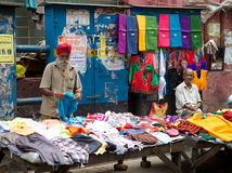 Indian vendors in Kolkata, India Royalty Free Stock Photos