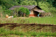 Indian Village Stock Image