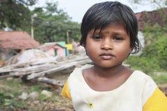 Indian Village Girl Royalty Free Stock Photo