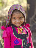 Indian Village Girl Royalty Free Stock Images