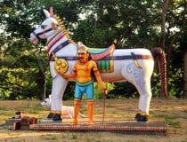 Indian village god Stock Image