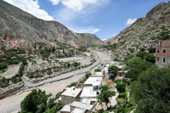 The indian village of Iruya Royalty Free Stock Photos