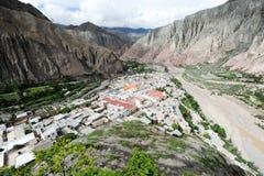The indian village of Iruya Stock Image
