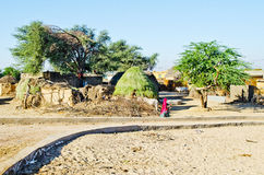 Indian Village Royalty Free Stock Images