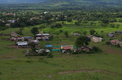 Indian village Satara locality Royalty Free Stock Photography