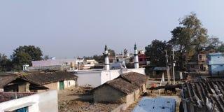 Indian Village scene royalty free stock photo