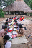 Indian village school Royalty Free Stock Photography