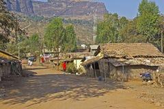 Indian village Trimbak Stock Photography