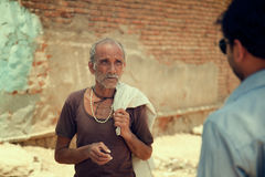 Indian villager man Stock Image