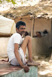 Indian villager man Royalty Free Stock Image