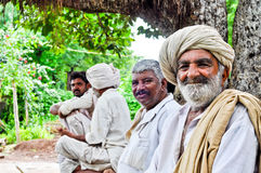 Indian villagers Royalty Free Stock Photo
