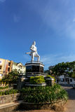 Indian warrior statue in Manado Stock Photography