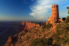 Watchtower at Desert View, Grand Canyon National Park, Arizona Royalty Free Stock Photo