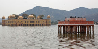 Indian Water Palace Stock Photo