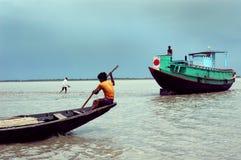 Indian Water transportation Stock Photo