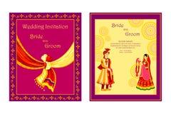 Free Indian Wedding Invitation Card Stock Photo - 48581700