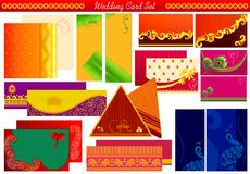 Indian Wedding Invitation Card Royalty Free Stock Photo