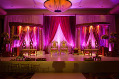 Indian wedding mandap Stock Photos