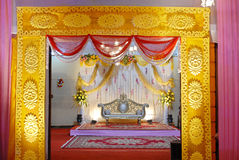 Indian Wedding Mandap Royalty Free Stock Image