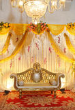 Indian Wedding Mandap Stock Photography