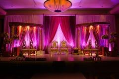 Indian wedding mandap for Indian Wedding Royalty Free Stock Photo
