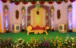Mehndi Stage Background : Wedding stage stock images download photos