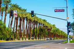Indian Wells Highway 111 Royalty Free Stock Photography