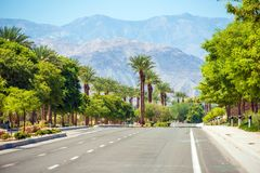 Indian Wells Street Royalty Free Stock Photos