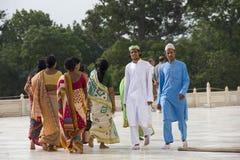 Indian at Taj Mahal. Indian were at Taj Mahal Agra,Uttar Pradesh,India Royalty Free Stock Photos