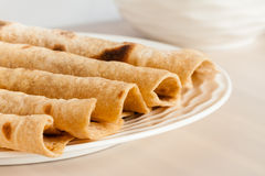 Indian Wheat Chapati Stock Photography