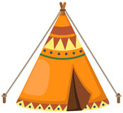 Indian wigwam Royalty Free Stock Images