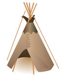 Indian wigwam Royalty Free Stock Photography