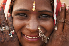 Indian woman Stock Photo