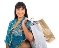 Indian woman bags Stock Images