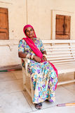 The Indian woman Stock Photography
