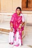 The Indian woman Stock Photos