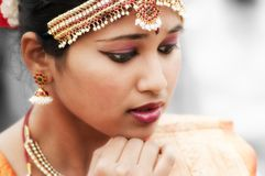 Indian, Woman, Dancer, Bollywood Stock Image