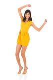 Indian woman dancing Stock Images