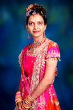 Indian woman in dress Stock Photos