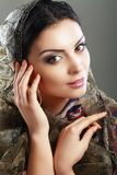 Indian Woman Face Royalty Free Stock Image