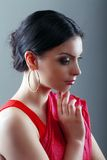 Indian woman face Royalty Free Stock Photos