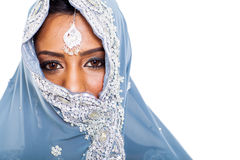 Indian woman face Stock Images